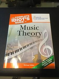 Music Theory book. Idiot's guide. 2nd edition