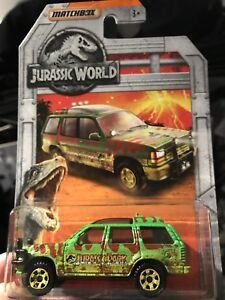 Matchbox Jurassic World '93 Ford Explorer(muddy version)