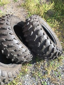BRAND NEW ATV TIRES 25x11x12 & 25x8-12