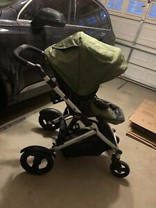 Britax B-Ready Stroller in Color Moss - Perfect Condition