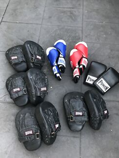 Boxing pads & mitts SET - fitness