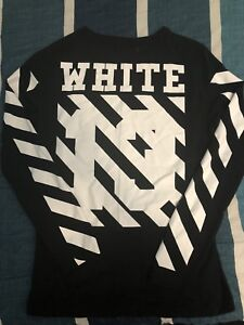 OFF-white long sleeve brand new 10/10 condition