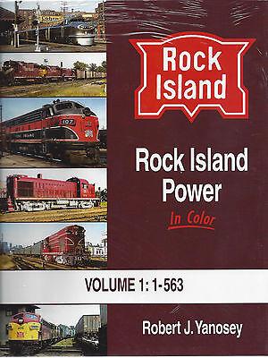 ROCK ISLAND Power in Color, Vol. 1: 1 to 563 Diesel Fleet (NEW BOOK)