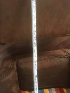 Boston Bruins team signed hockey srick