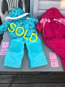 Girls Winter Coats, Suits And Pants