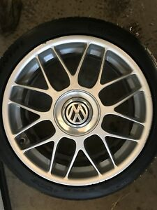 VW MK4 BBS RCs 18x71/2 with Continentals