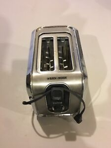Black and Decker toaster - good condition