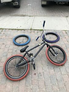 "WeThePeople Justice 20"" Bmx Bike w/ extra set of tires"