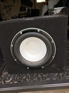 Car Audio Subwoofer and amps