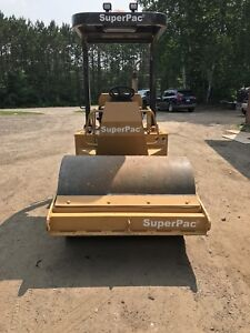 "For sale 2000 54""superpac vibratory compactor roller low hours"