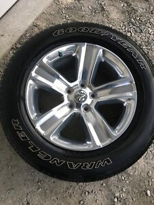 2017 ram sport rims and tire package