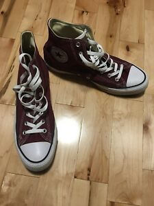Men's converse size 11 worn once