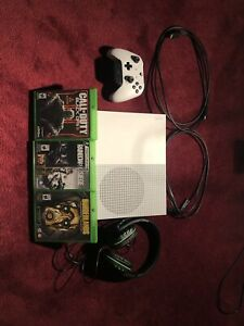 Xbox 1S with accessories