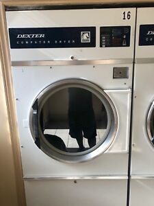 Dexter Commercial Dryers for sale.