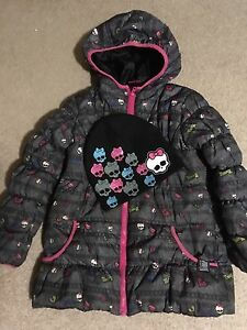 Monster high coat with matching hat