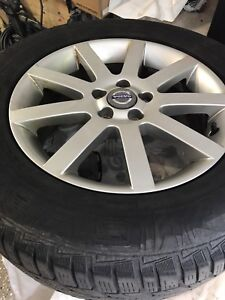 Volvo XC90 rims and winter tires