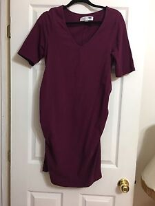 7 large/x-large maternity dresses-selling as a lot