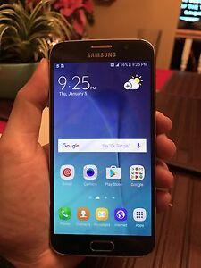 $350 Black Samsung Galaxy s6 32gb Bell & Virgin