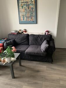 Great couch - dark grey/black from IKEA