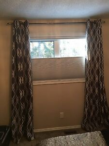 Never used curtains from urban barn - silver or purple avilable