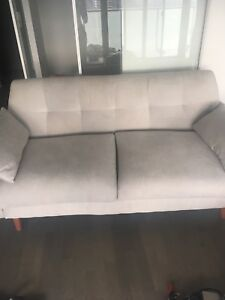 Way fair Artesia Stylish grey sofa/loveseat