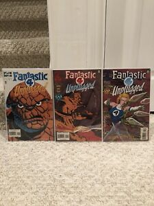 Marvel Comics Fantastic Four Unplugged