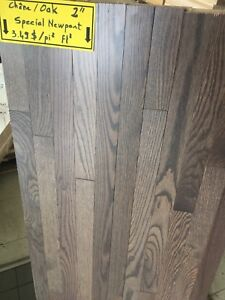 Oak hardwood floor 2 inches 3,49$ per sqft