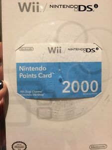 Nintendo Card Points 2000