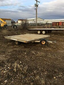 10' sled bed aluminum trailer *REDUCED*