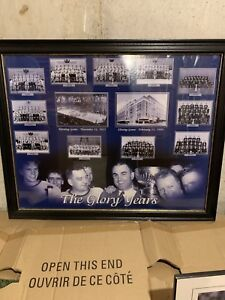 Glory years framed art sports collector