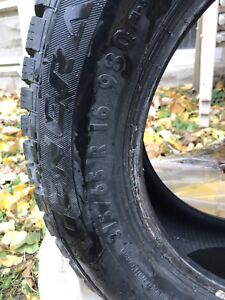 4 used winter tires!  215/65 R 16
