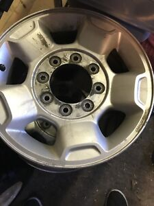 "2012 f250 stock aluminium rims 17"" ONLY 3 for sale"