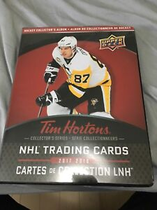 2017-18 Upper Deck Tim Hortons Collector's Series