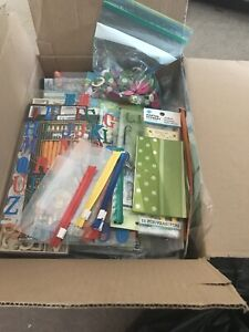 Box of scrapbook supplies ( sold pending pick up)