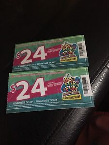 Calaway Park Ticket $48 for 2 obo