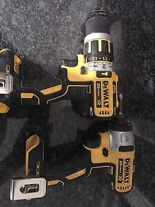 DeWalt HammerDrill/Drill Driver and 1/4' Impac Driver TOOL ONLY
