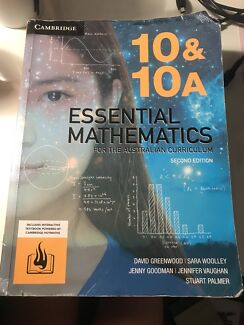 Wanted: 10&10A Essential Mathematics