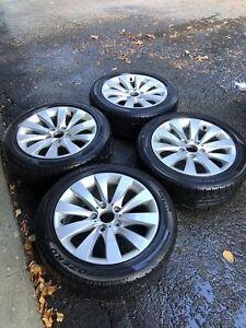 BMW - 4 Mags & Pirelli Winter tires 225/50R17