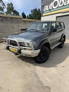 1992 Toyota landcruiser 80 series 1hdt factory turbo diesel