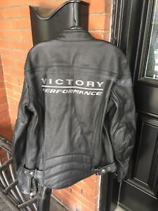 Motorcycle Jacket- Victory- Men's L
