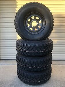 Brand new 285/75R16 muds on brand new black ROH 16x8's Caboolture Caboolture Area Preview