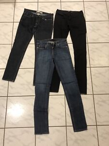 Brand Name Jeans Size 26-27 $5 each