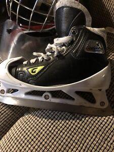 Custom made Goalie Skates size 4-5
