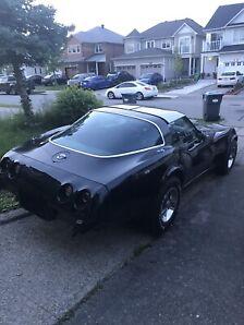 1978 25th anniversary corvette