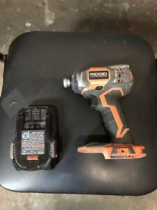 Ridgid power drill
