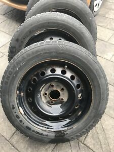 215 60 16 Winter tires and rims