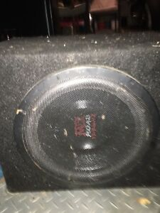 "10"" MTX Audio Sub"