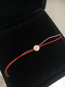 REDLINE style 18k rose gold bracket with diamonds