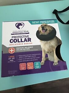 Protective collar LG reaching cuts, wounds, post surgery obo