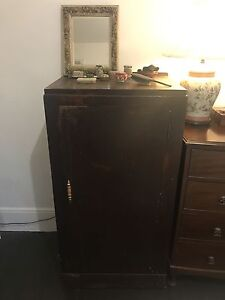 Dark wood cupboard with shelves Paddington Eastern Suburbs Preview